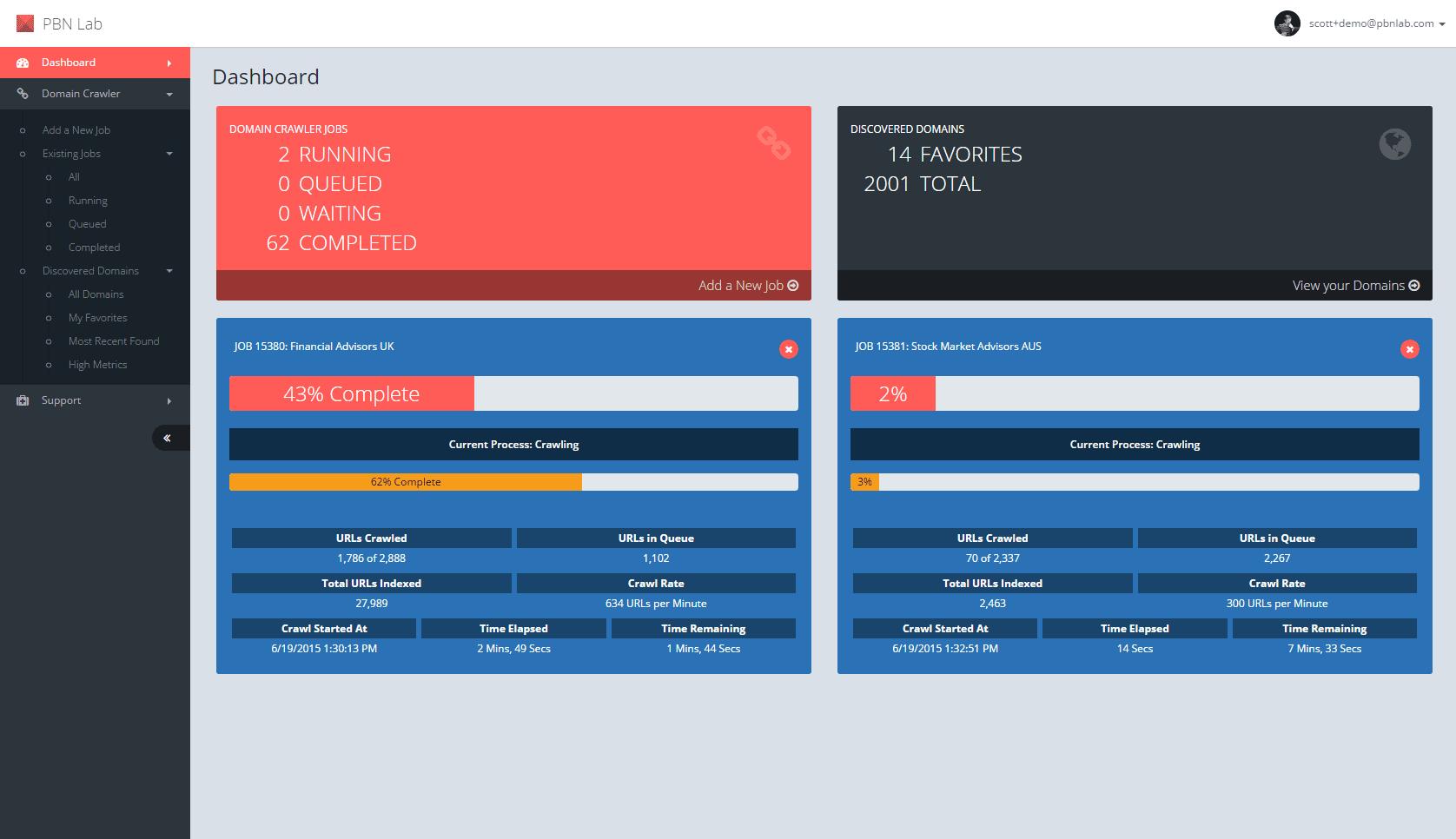 PBN-Lab-Expired-Domain-Crawler_1_Dashboard